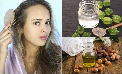 5 traitements maison pour combattre les cheveux trop fins