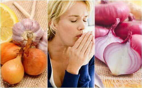 L'oignon pour combattre la toux naturellement