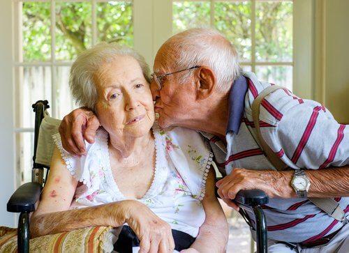 démences au sein d'un couple de personnes âgées