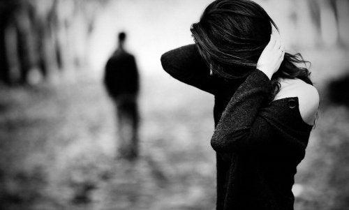 Mettre fin à une relation avec son partenaire.