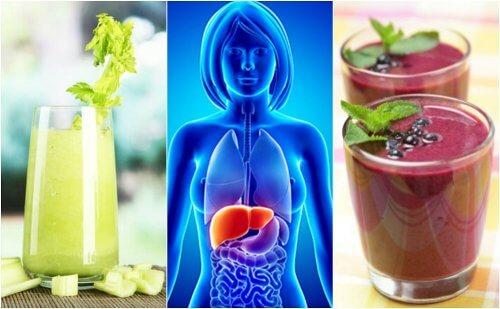 Détoxifiez votre foie avec ces 4 smoothies aux fruits et légumes