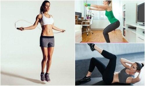 Vous manquez de temps pour aller à la salle de sport ? Restez en forme sans quitter la maison avec ces exercices