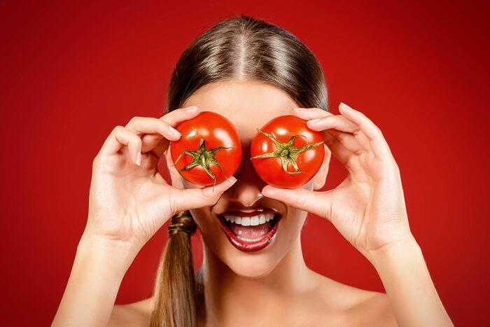 exfoliant maison à base de tomate