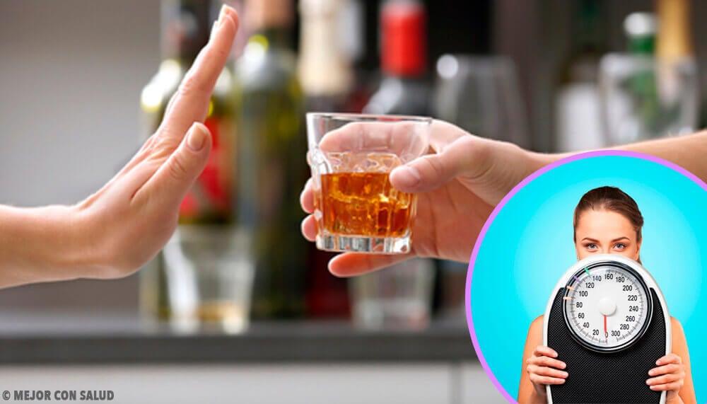 Perdre du poids juste en arretant l'alcool