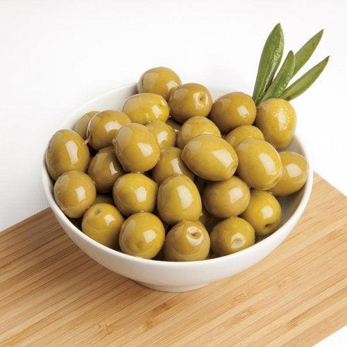 les olives contre la flaccidité