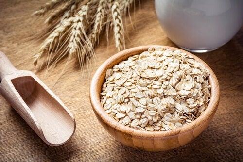 L'avoine fait partie des céréales complètes