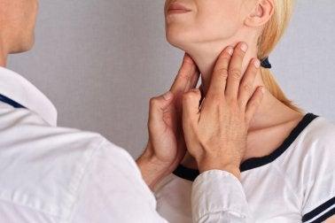 La thyroïde.