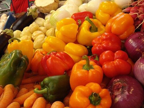 Les légumes.