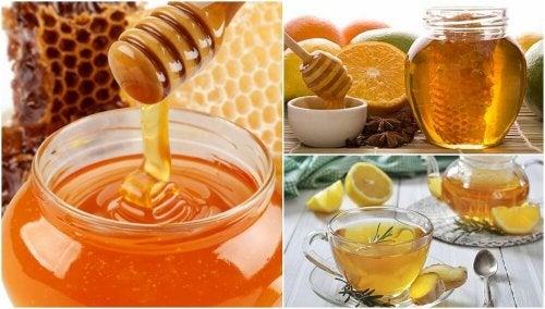 Comment préparer 5 remèdes avec du miel pour améliorer votre santé