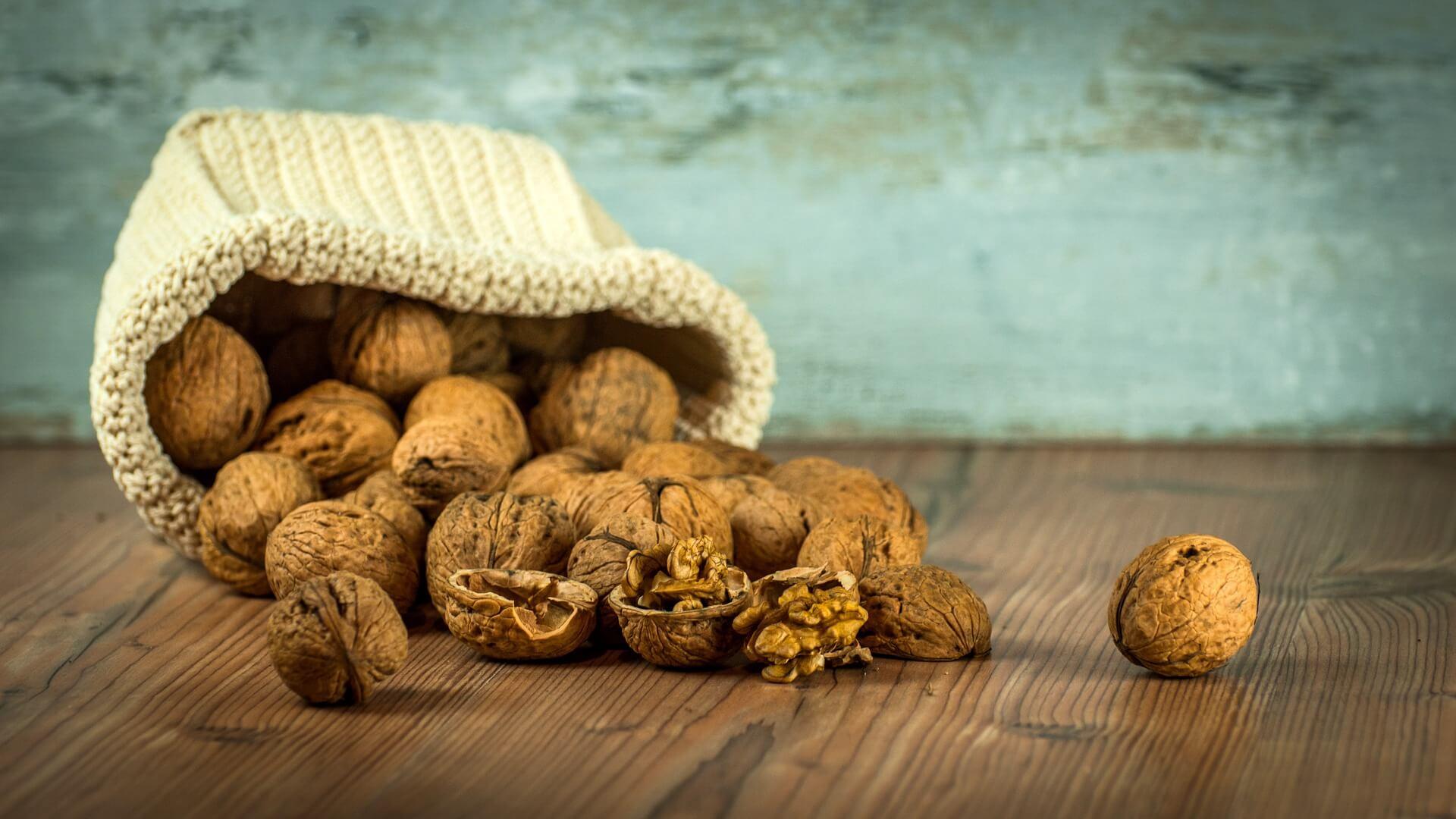 Les noix contre la nervosité