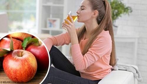 8 bienfaits du jus de pomme