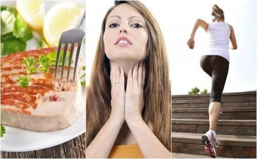 6 conseils pour améliorer l'action de la thyroïde