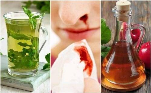 5 remèdes naturels contre les saignements de nez
