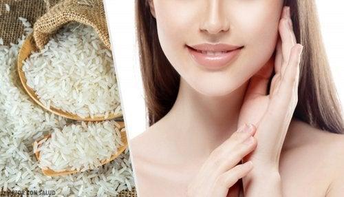 L'utilisation du riz pour avoir une jolie la peau