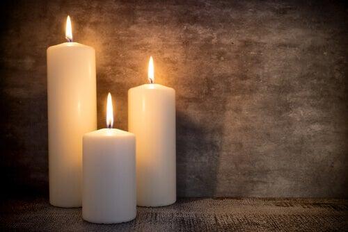 Les bougies pour un style vintage.