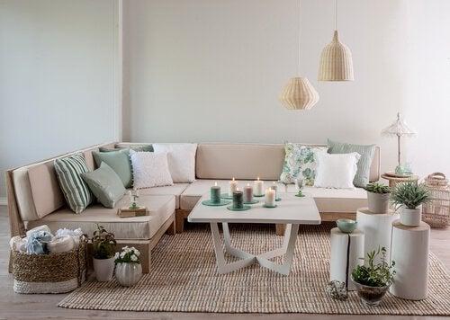 Apprenez à décorer un salon dans le style vintage