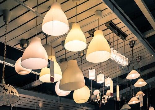 Les lampes pour créer un style vintage.
