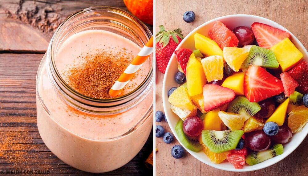 7 smoothies nutritifs pour le petit déjeuner tous les jours de la semaine
