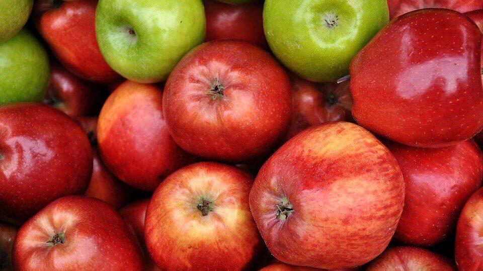 La peau de pomme pour le corps.