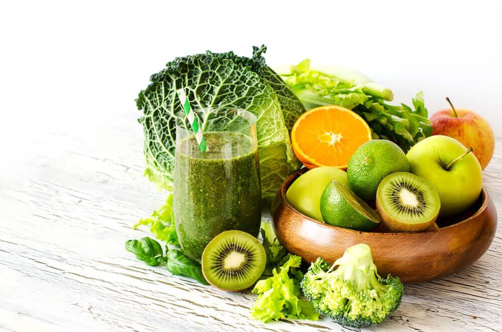 Légumes verts contre l'anxiété