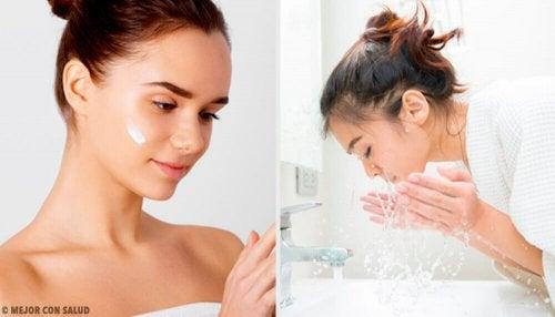Vous ne prenez pas la peine de nettoyer votre visage