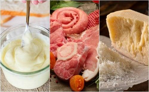 6 aliments à la forte teneur en mauvais cholestérol