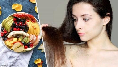 12 aliments pour des cheveux plus beaux