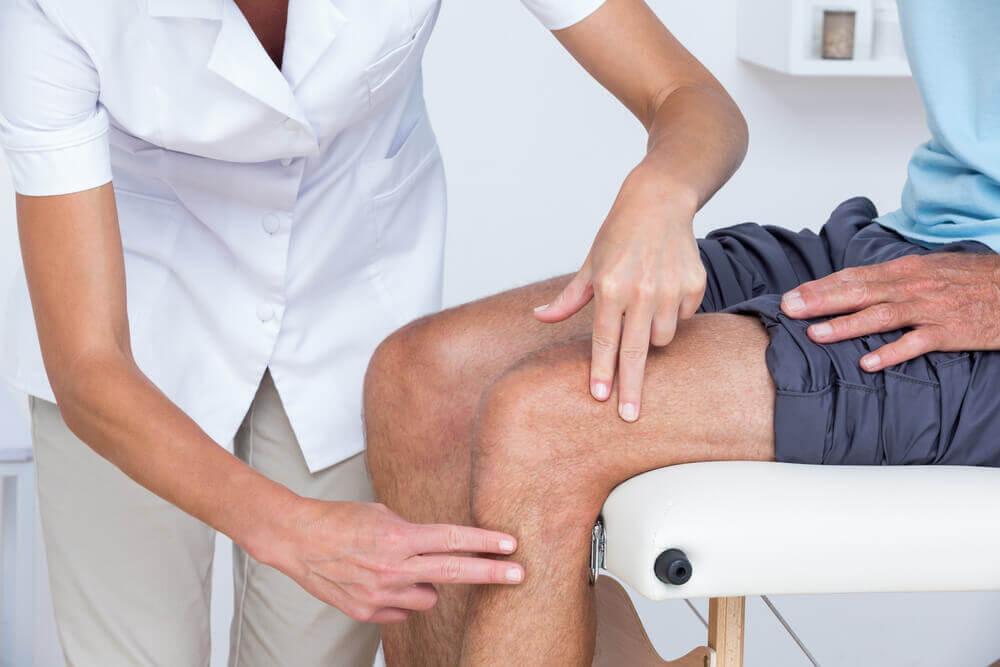 Soulager le mal au genou.