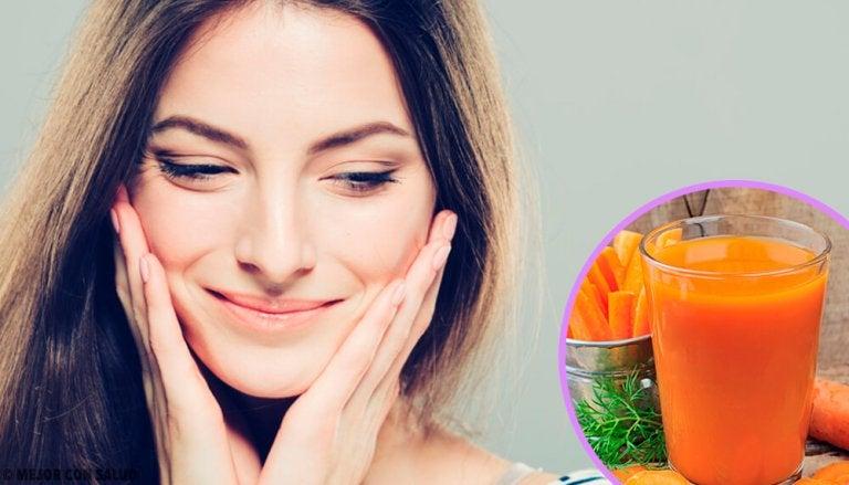 Aliments à consommer pour une peau saine