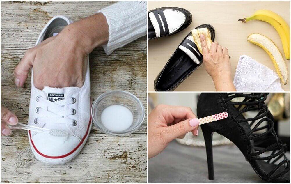 10 astuces pour retrouver vos chaussures comme neuves