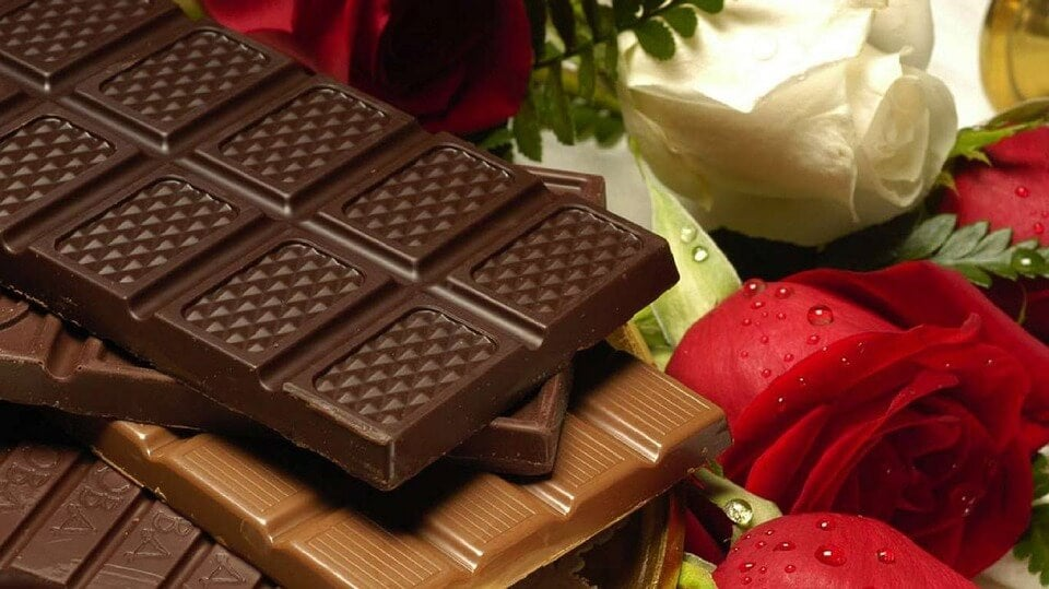 Chocolat pour une peau saine.