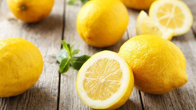 le citron pour éliminer les cicatrices d'acné