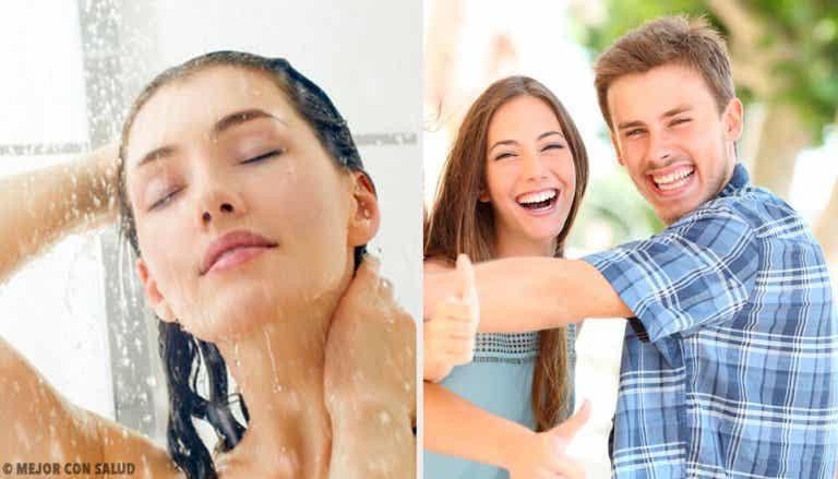 10 changements qui surviennent en prenant une douche froide