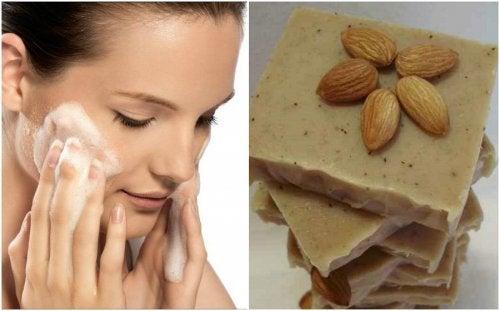 Gommage aux amandes et à la vanille pour les peaux sèches