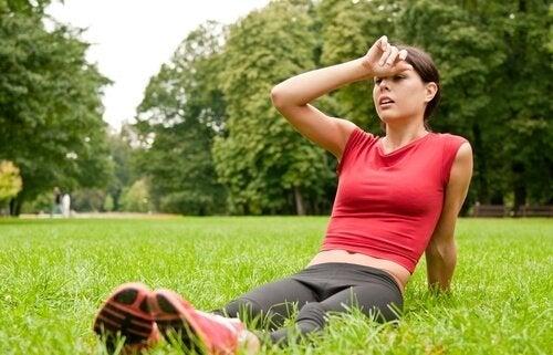 Le manque d'activité physique favorise les crises cardiaques.
