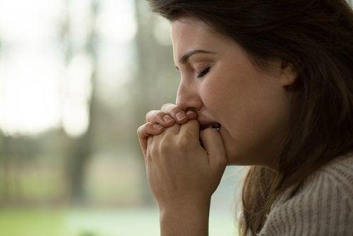 femme en état de stress