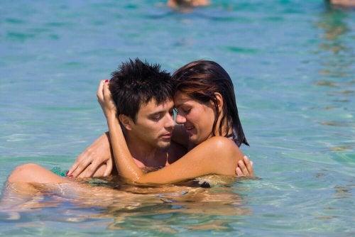 Faire l'amour dans l'eau