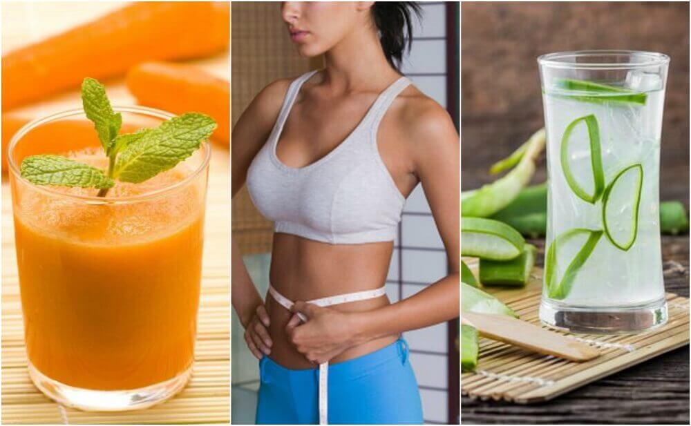 5 jus qui aident à perdre du ventre