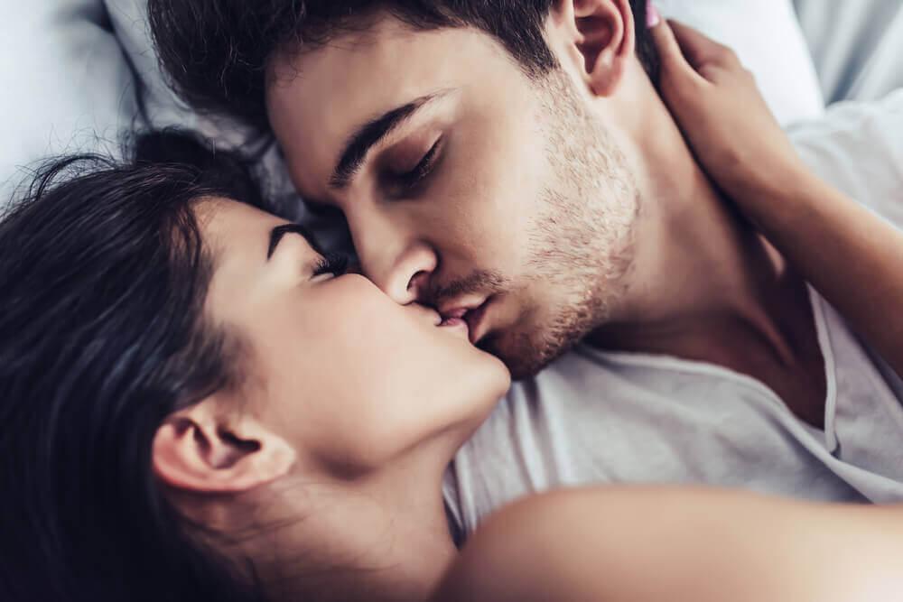 zones érogènes masculines : lèvres