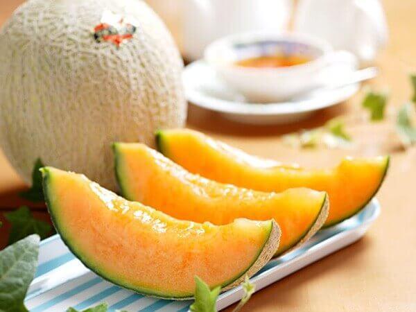 desserts nutritifs avec du granite de melon
