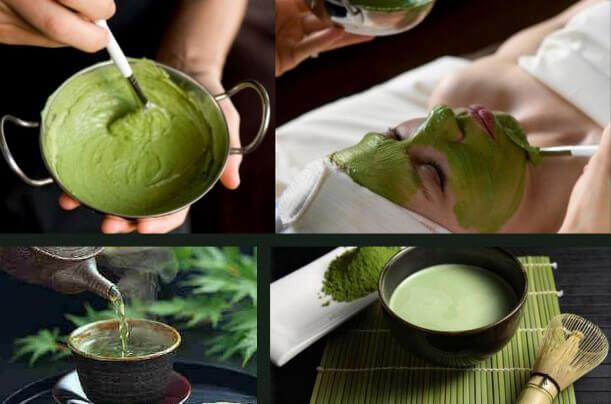 Masque au thé vert pour la peau