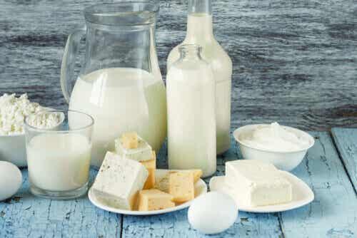 Produits laitiers qui contiennent le moins de lactose ?