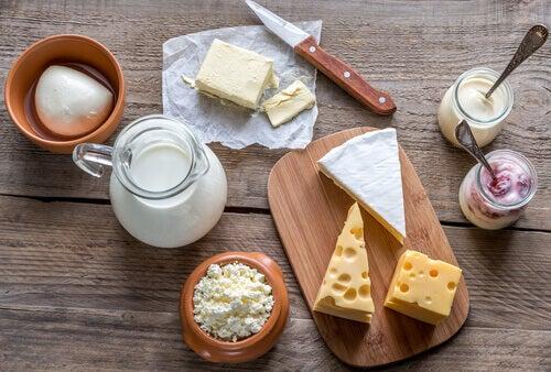 Produits laitiers pour votre petit-déjeuner.