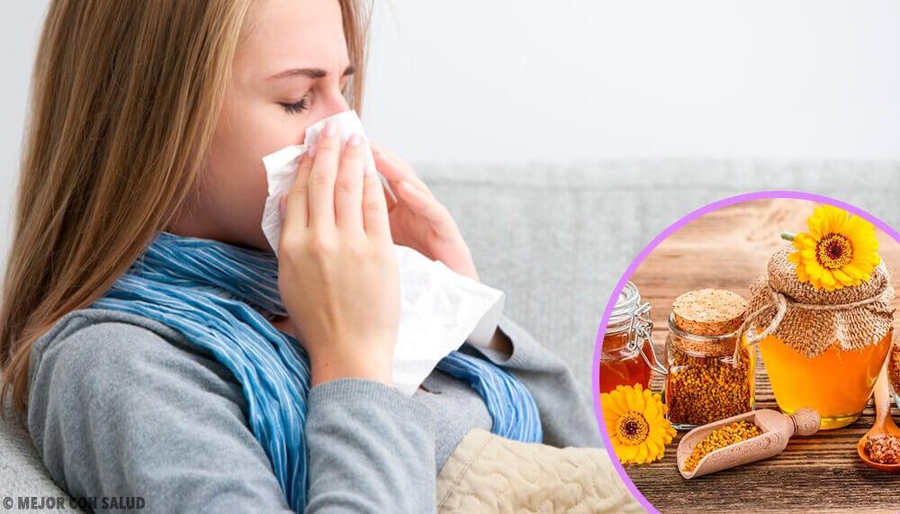 Prenez de la propolis dès les premiers symptômes de grippe ou de rhume