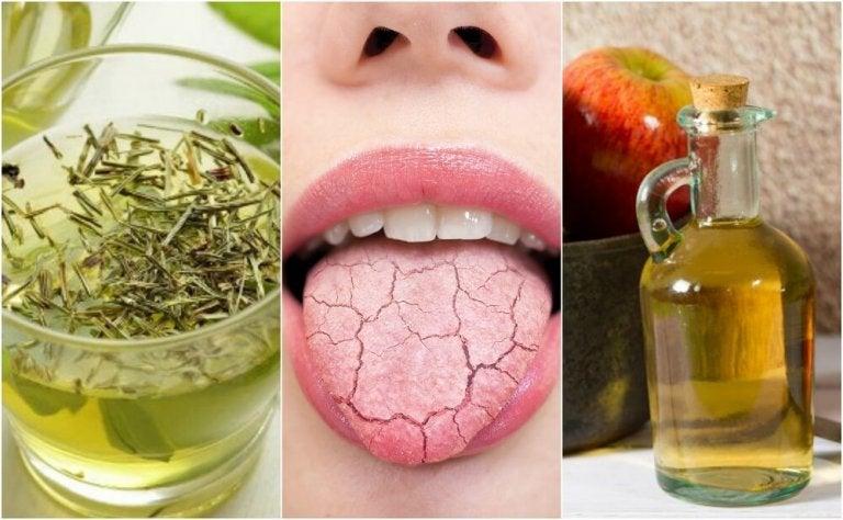 5 remèdes faits maison pour soulager la bouche sèche