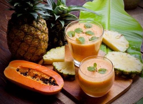 3 smoothies à la papaye pour vos desserts et en-cas