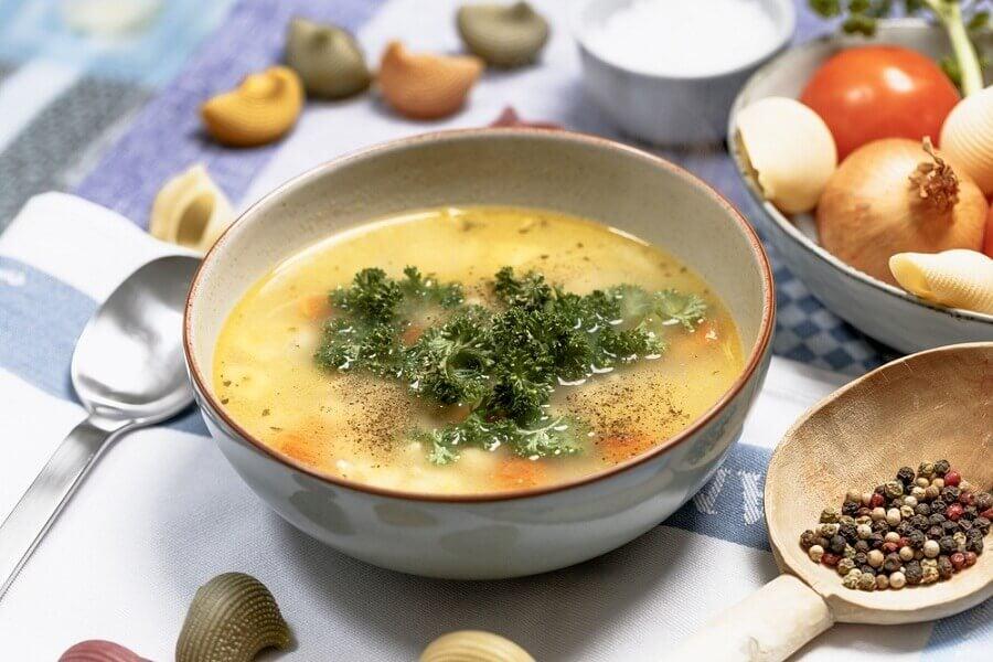 La soupe détox absolue.