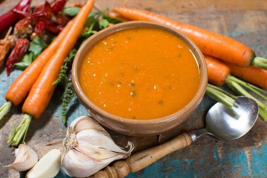 soupe detox potassium