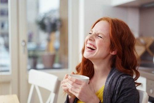 rire pour arrêter d'être triste