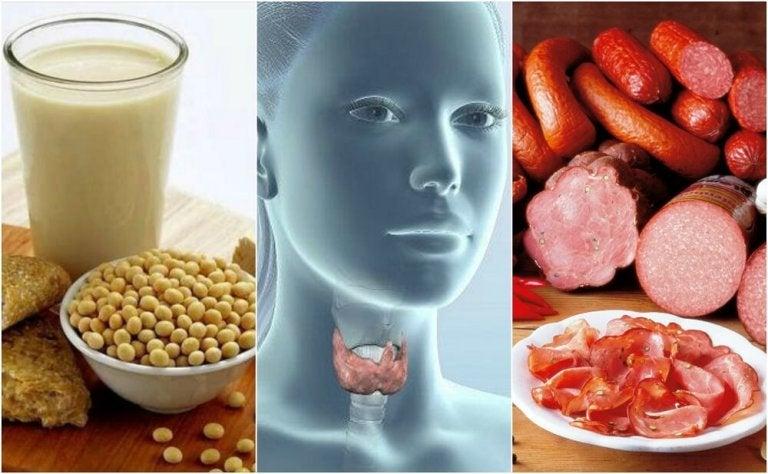 7 aliments interdits si vous souffrez d'hypothyroïdie